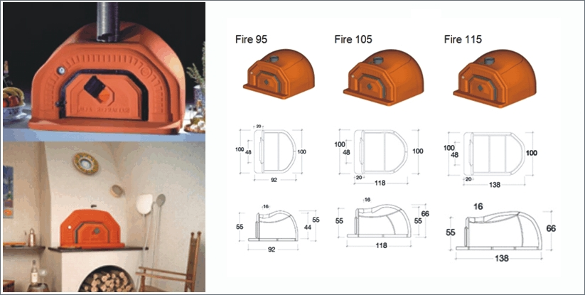 Hornos morunos prefabricados transportes de paneles de - Hornos de lena prefabricados ...