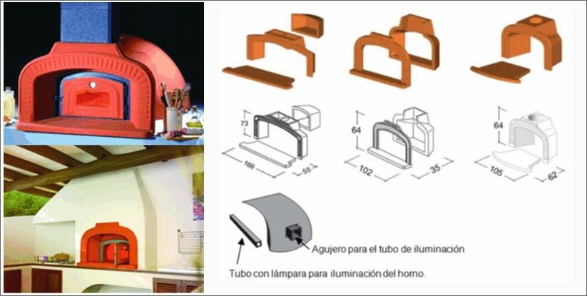 Wolpast hornos tradicionale le a gama media - Hornos de lena prefabricados ...