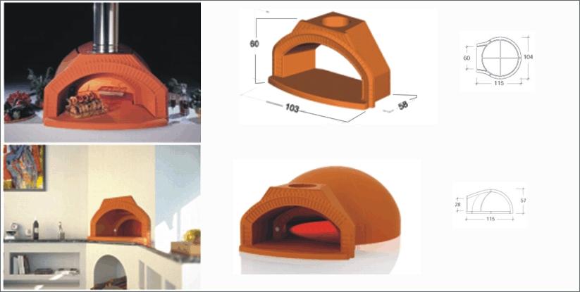 Horno le a prefabricado transportes de paneles de madera - Hornos de lena prefabricados ...